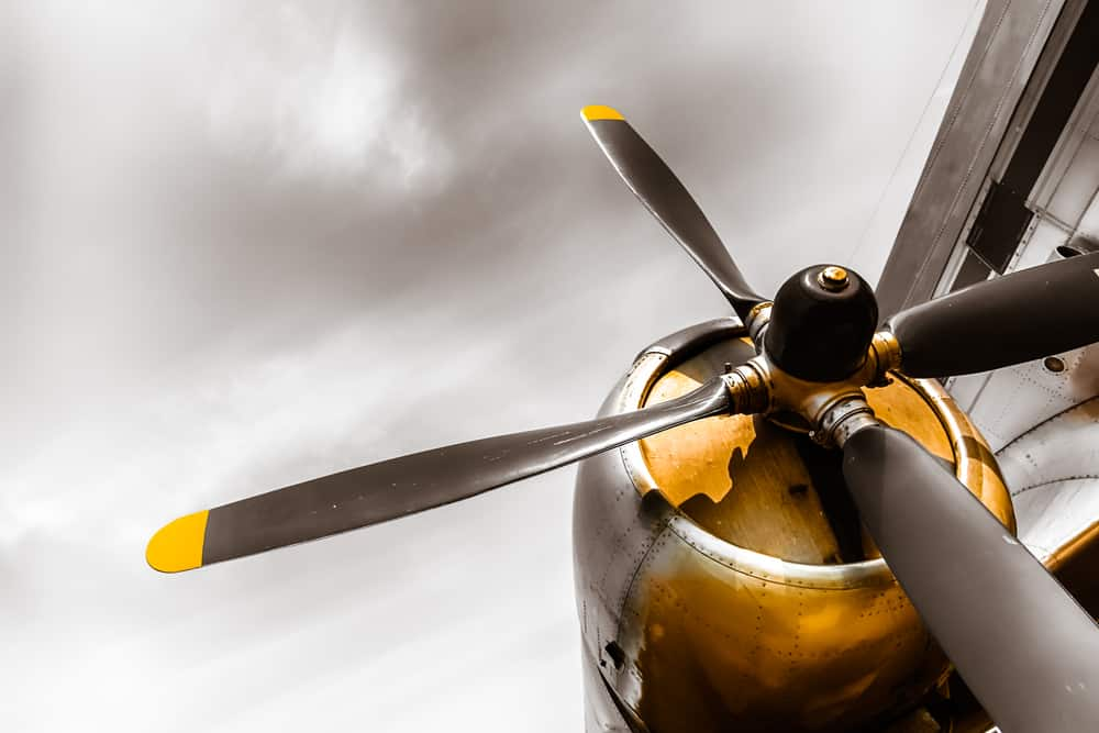 how to calculate propeller pitch speed
